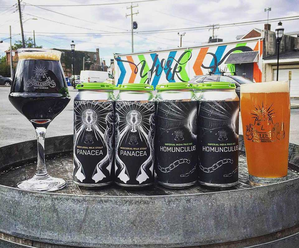 Collusion Tap Works – York, PA Craft Brewery